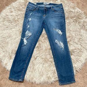 Torrid boyfriend jeans size 18